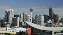 The downtown Calgary skyline is shown in July, 2008. (Larry MacDougal/Larry MacDougal)