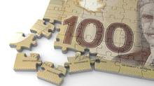 Canadian Dollar Puzzle (selensergen/thinkstock)