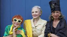 Advanced Style: Ilona Royce Smithkin, left, Joyce Carpati and Lynn Dell Cohen, right. (Ari Seth Cohen)