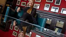 Shauna de Cartier, the founder and president of Six Shooter Records. (Peter Power/The Globe and Mail)