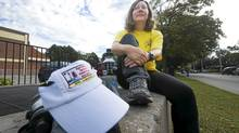 Kathryn Garrett, 44, has volunteered at the Scotiabank Toronto Waterfront Marathon and many other races put on by the Canadian Running Series for the past several years. (Kevin Van Paassen/The Globe and Mail/Kevin Van Paassen/The Globe and)