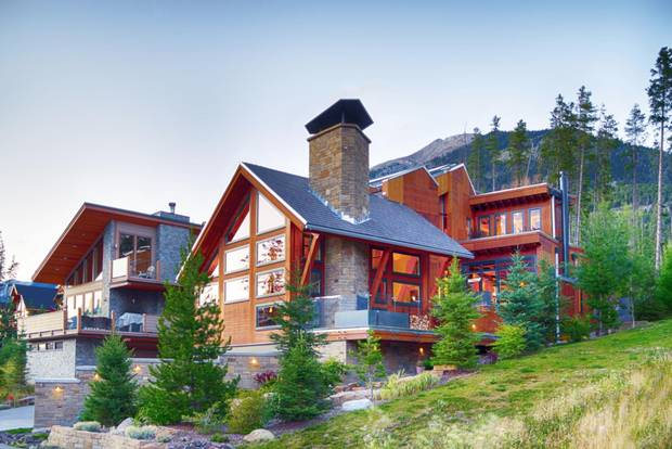 This Canmore home sold at auction for $2.4-million in February.