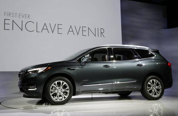 The 2018 Buick Enclave Avenir.