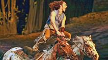 Cavalia's biggest-ever touring tent hosts a new show, Odysseo, running May 15 through June 3 at Toronto's Port Lands.