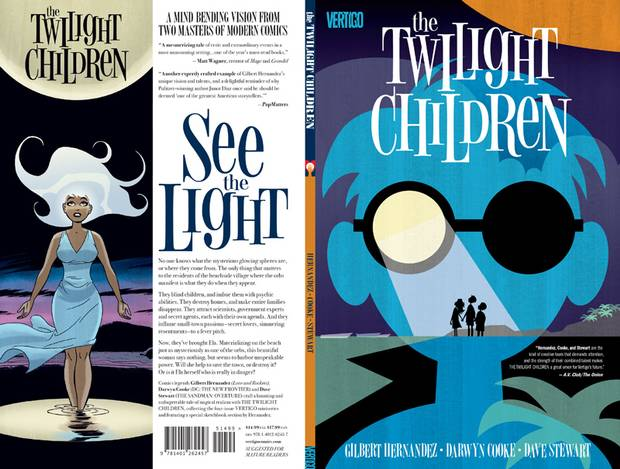 Twilight Children was the last completed Darwyn Cooke project before his death.