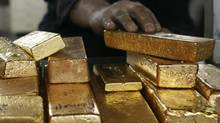 Gold is considered a safe haven investment, which explains why the price has soared over the past couple of years to about $1,400 (U.S.) an ounce. (Osman Orsal/Reuters/Osman Orsal/Reuters)