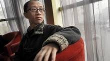 Chinese activist and dissident Hu Jia speaks during an interview in Beijing, China on Friday, March 16, 2012. (Keith Bedford for The Globe and Mail)
