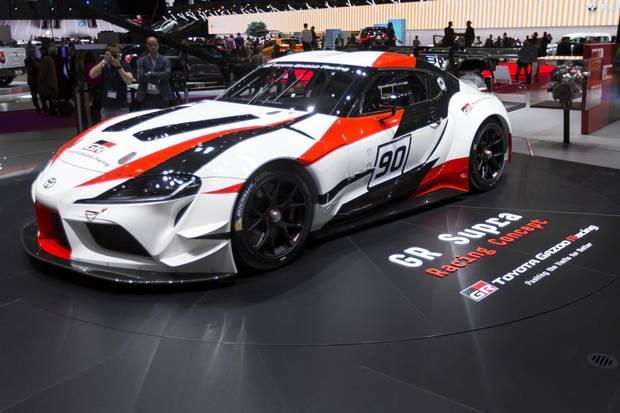Toyota GR Supra Racing concept car.