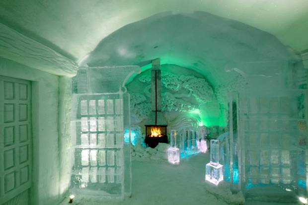 From Quebec to the Arctic Circle, embrace winter at a snow