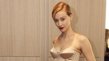 Two weeks, two parties, two looks: actress Sarah Gadon out on the town again, this time in Rochas at the 16th Annual Butterfly Ball in the Four Seasons Hotel. (Jenna Marie Wakani For the Globe and Mail)