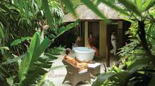 Unwind at the Four Seasons Resort Sayan in Bali.