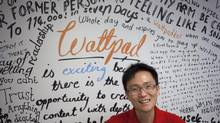 Co-founder of Wattapp, Allen Lau, wants total global penetration for the writing website. (Pawel Dwulit For The Globe and Mail)