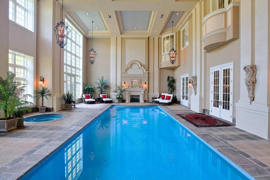 Home of the week 65 million lakeside mansion replicates - Hotels in chester with swimming pool ...