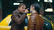 Leonardo DiCaprio and Joseph Gordon-Levitt in Inception. (Courtesy of Warner Bros. Picture)