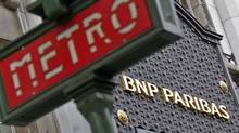 The Paris headquarters of BNP Paribas. BNP and fellow French banking giant SocGen are nearing the ned of their crash diets as they sell off non-core assets. (Mal Langsdon/Reuters/Mal Langsdon/Reuters)
