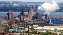 Steel operations at the former Stelco Inc. in Hamilton, Ont. (Peter Power/Peter Power/The Globe and Mail)