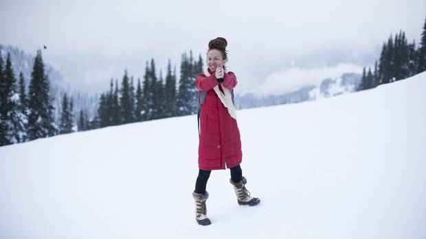 Director Ingrid Veninger is photographed in Whistler on Dec. 3, 2016.