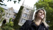"Atara Messinger, 21, is in her final undergraduate year at McMaster University, and feels core-curriculum programs like hers are ""guiding you to where the world is going,"" and yet are 'so, so hard to get these days.' (Peter Power/The Globe and Mail)"