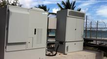 Fuel cells manufactured by Vancouver-area firm Ballard Power Systems provided backup power in the Bahamas when Hurricane Sandy shut down the electricity grid. (Ballard Power Systems)