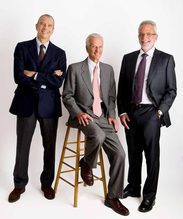 3G founding partners Carlos from left: Alberto Sicupira, Jorge Paulo Lemann and Marcel Herrmann Telles