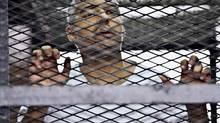 Mohammed Fahmy is one of three Al-Jazeera journalists convicted of terrorism-related charges. (Hamada Elrasam/Associated Press)