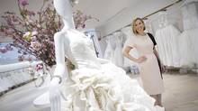 Hudson's Bay Co. president Liz Rodbell has a strategy with Kleinfeld Bridal boutique. (Kevin Van Paassen For The Globe and Mail)