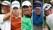 Canada's PGA fab five - Graham DeLaet, David Hearn, Stephen Ames, Mike Weir and Brad Fritsch