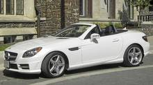 2012 Mercedes-Benz SLK. (Ted Laturnus for The Globe and Mail)