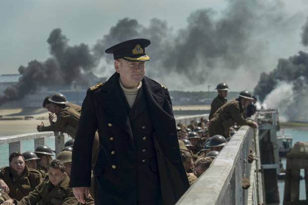 """Kenneth Branagh as Commander Bolton in the Warner Bros. Pictures action thriller """"Dunkirk."""""""
