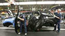 A plant with flexible tooling could supplement production where plants are working at full tilt, such as the Cami Automotive factory in Ingersoll, Ont. (Norm Betts/Bloomberg News/Norm Betts/Bloomberg News)