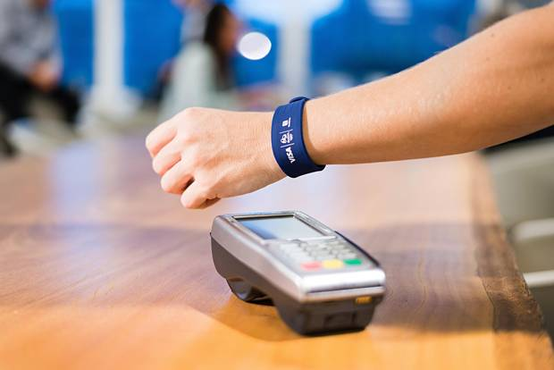 Visa Inc. developed wearable payment options for consumers at the recent Olympics in Brazil.