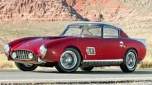 1957 Ferrari 410 Superamerica coupe Selling price: $1,815,000 (U.S.) (Darin Schnabel ©2011 Courtesy o/Darin Schnabel/RM Auctions)