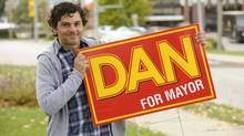 Actor Fred Ewanuick says his character in Dan for Mayor isn't just a reprise of Hank from Corner Gas.