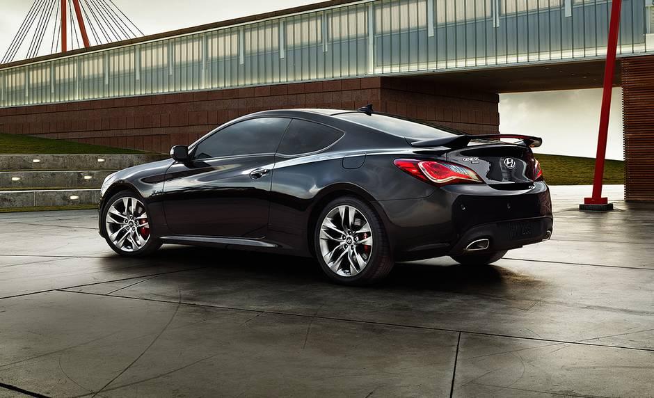 2013 Hyundai Genesis Coupe Black