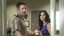 David Arquette and Courteney Cox in Wes Craven's Scream 4