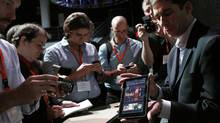 In the new book 'Demand,' Amazon's Kindle tablet reader is cited as an example of a product that got consumers excited. (Shannon Stapleton/Reuters/Shannon Stapleton/Reuters)
