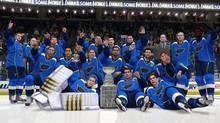 The EA Sports NHL 14 simulation had the St. Louis Blues winning their first ever Stanley Cup by dispatching the Pittsburgh Penguins four games to two (EA Sports)