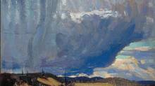 A detail from Tom Thomson – IMAGE 4689 Approaching Snowstorm, 1915. (Bequest of Dr. J. M. MacCallum, Toronto, 1944 National Gallery of Canada, Ottawa Photo © NGC)