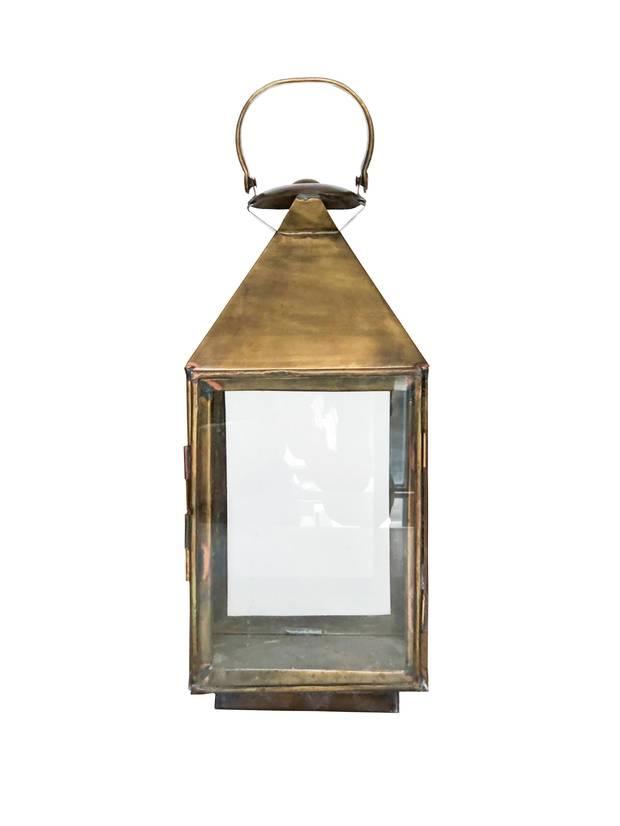 Coin Maison – Espace Pepin brass lantern, $115 at Pepin Shop (thepepinshop.com).