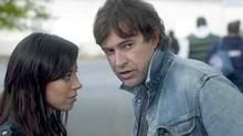 "Mark Duplass plays a crazy/genius guy in ""Safety Not Guaranteed"" (with Aubrey Plaza), one of five current movies in which he has a significant role. (FilmDistrict)"