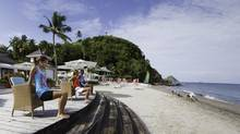 Fit holidays are the focus of The Body Holiday resort in St. Lucia. (Mikael Lamber)