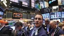 Traders wait for the IPO of ING U.S. on the floor at the New York Stock Exchange, May 2, 2013. Shares of ING U.S. Inc were up slightly in their New York Stock Exchange debut on Thursday after opening down 1 percent. (BRENDAN MCDERMID/REUTERS)