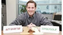 Toby Reid of Solegear, a Vancouver bioplastics company. (Solegear)