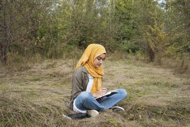 Sumaiya Tufail, 22. Surrey, BC. Poet, fundraiser and Islamic studies student. Canadian.