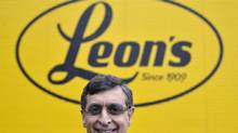 Terry Leon, president and chief executive officer of Leon's Furniture Ltd., in his flagship Toronto store on Nov. 12, 2012, after announcing his company's purchase of The Brick. (J.P. MOCZULSKI For The Globe and Mail)