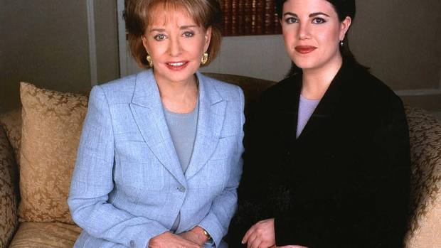 """I wouldn't dream of asking Chelsea and Mrs. Clinton to forgive me, but I would ask them to know I'm very sorry for what happened and what they've been through."" That was Monica Lewinsky speaking to Barbara Walters in 1999 on the subject of what exactly had gone on with President Bill Clinton, and why perhaps it shouldn't have. The interview on 20/20 drew 48.5 million viewers. (Virginia Sherwood/Reuters)"