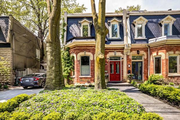 Home Of The Week A Restored Leslieville Victorian With A