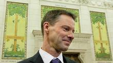 Nigel Wright, then chief of staff for Prime Minister Stephen Harper, is shown in Ottawa on Nov. 2, 2010. (SEAN KILPATRICK/THE CANADIAN PRESS)