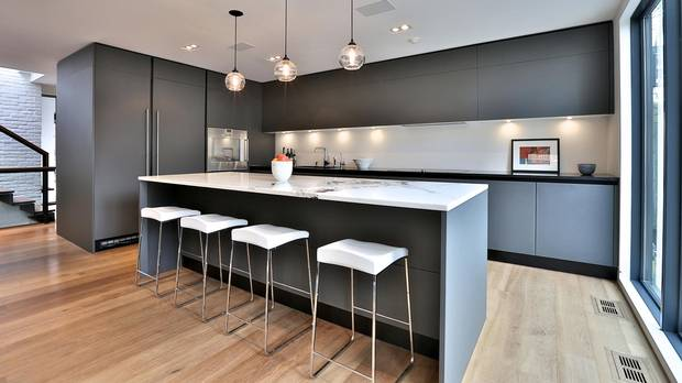 Home of the week former dairy office blends with new for Scavolini kitchens toronto