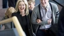 Bonnie Crombie filed her papers to run for mayor of Mississauga March 25, 2014. (Kevin Van Paassen/The Globe and Mail)